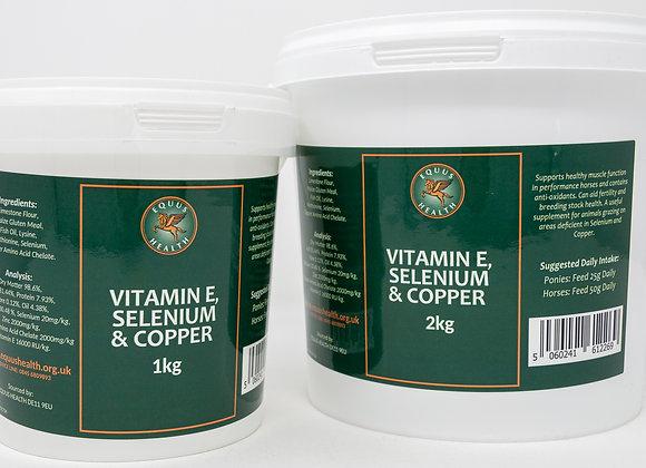 Equus Health Vitamin E, Selenium and Copper