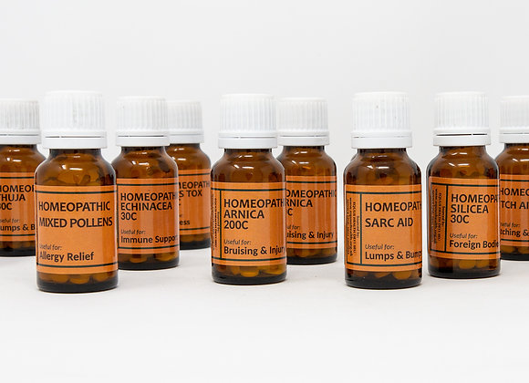 Homeopathic Mixed Pollens 10g