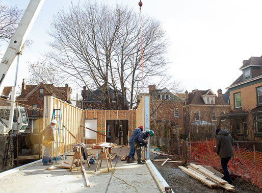 Construction Update: Walls & Roof Install