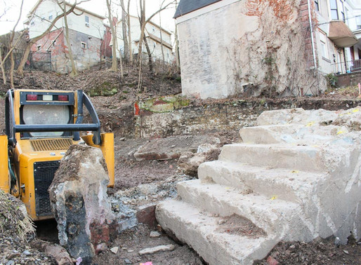 Black Street Construction Update: Excavation is finished!