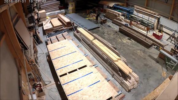 Produktion Dachelemente