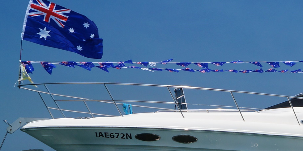Australia Day Mega Raft Up