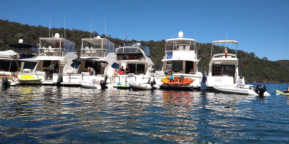 Annual Raft Up America Bay