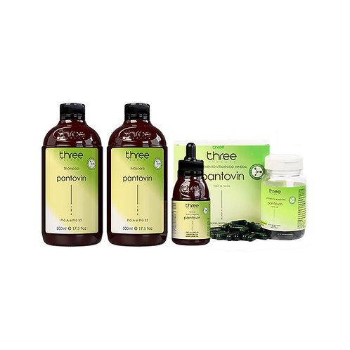 COMBO PANTOVIN PROMOCIONAL – Shampoo + Máscara + Tônico + Cápsula