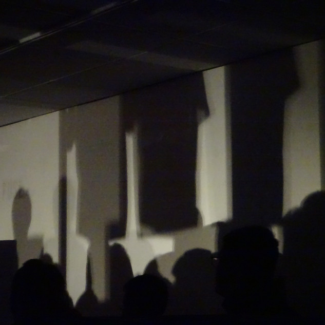Performing at Fuse Artspace