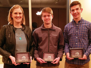 WYSC Awards Presented at the 2018 Stateline Soccer District Awards Banquet