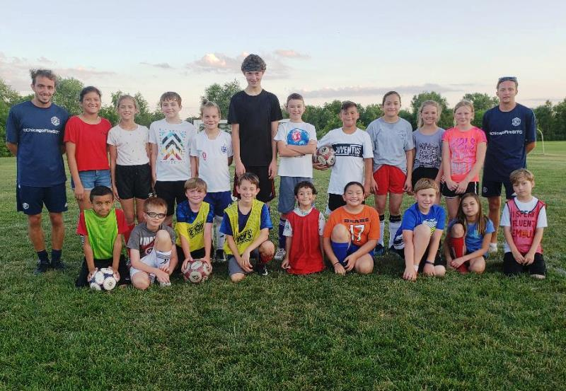 WYSC Chicago Fire Soccer Camp - Group ph