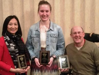 WYSC Awards Presented at the Stateline Soccer District Awards Banquet