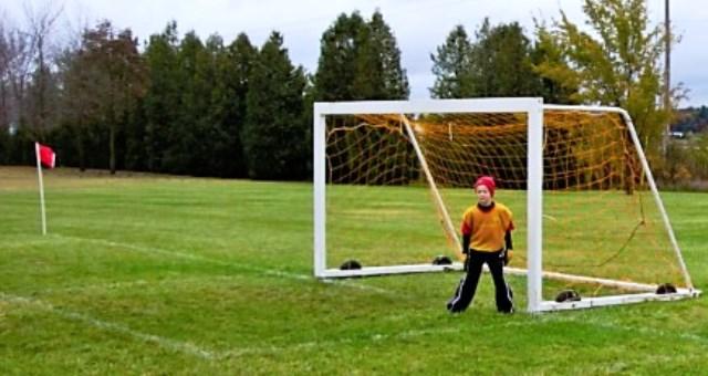 luke as goalie