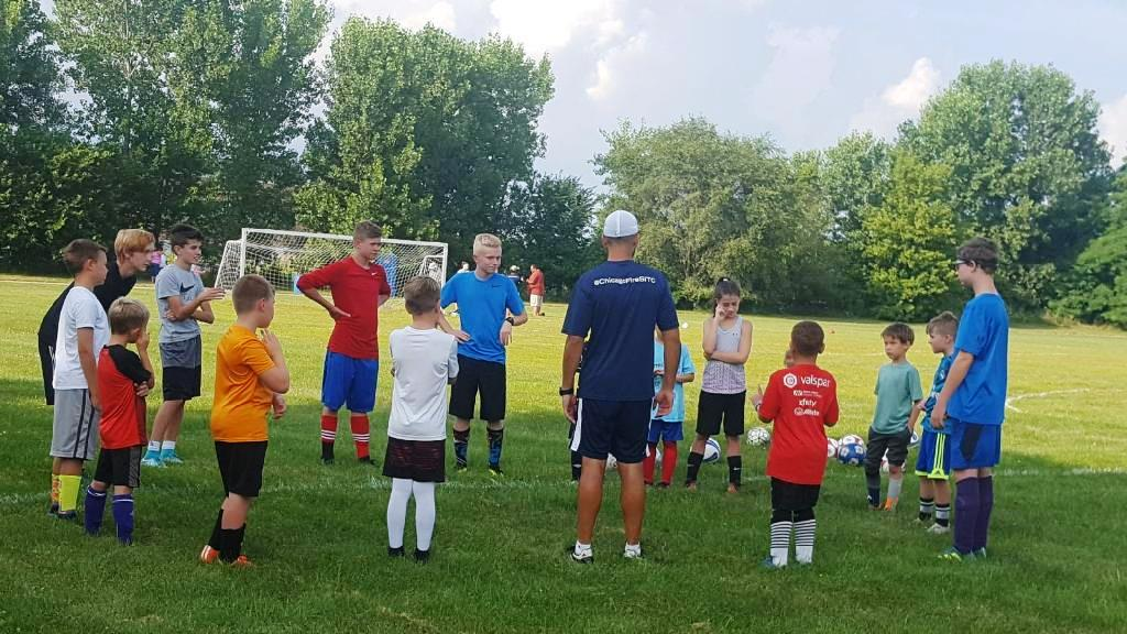 Chicago Fire Soccer Camp 1 - July2018