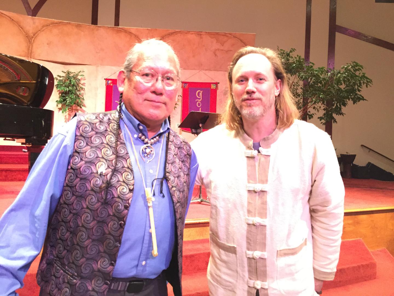 Rob and Carlos Nakai.JPG