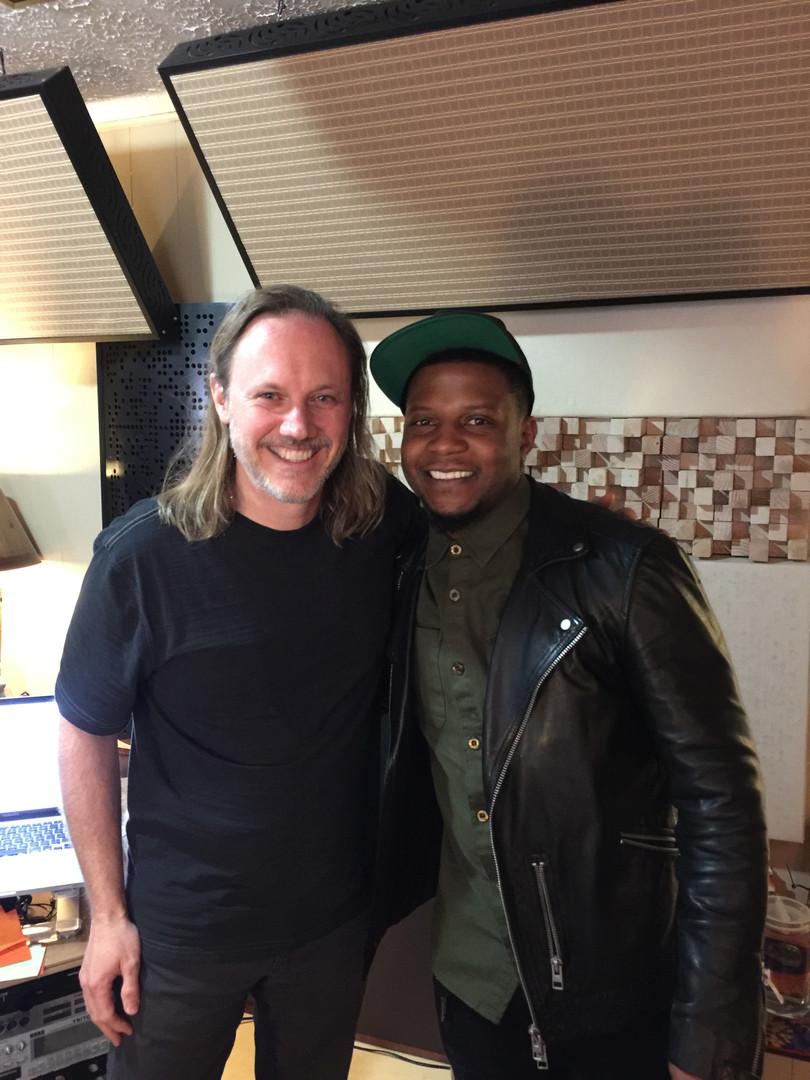 Rob with Jimmy King (Bruno Mars Band).jpeg