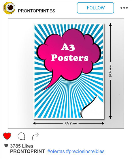 120 POSTERS A3