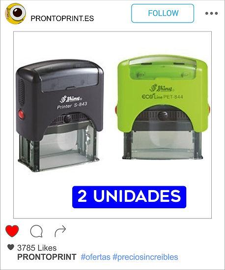 2 SELLOS DE CAUCHO