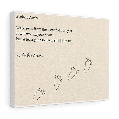 Mother's Advice - Canvas
