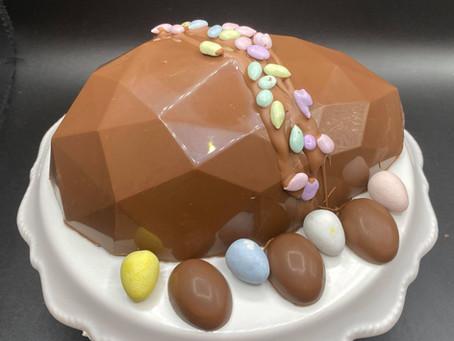 Chocolate Pinata Easter Eggs