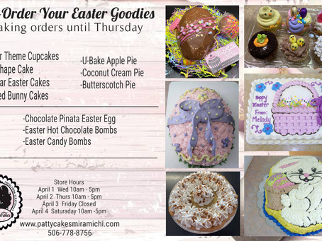 Order Your Easter Goodies Today