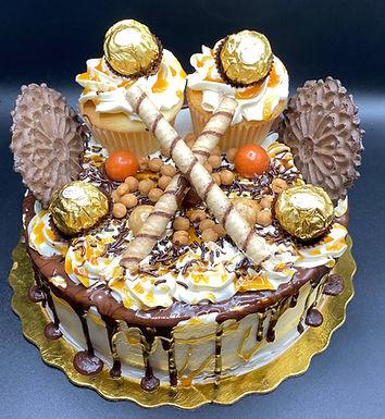 Ferraro Roucher Explosion Cake