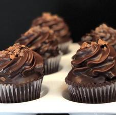 Sinful Chocolate Dip Cupcake