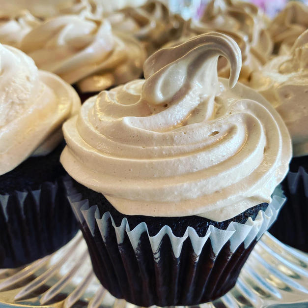 Chocolate with Boiled Icing Cupcake