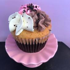 Neopolitian Cupcake