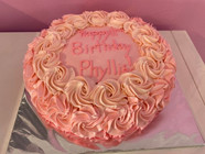 Rosette Cakes  (12)