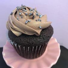 Old Fashion Chocolate Buttercream Cupcake