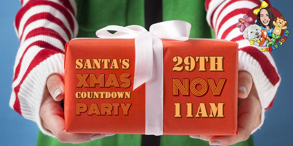 Santa's Xmas Countdown Party: 11am - 1pm