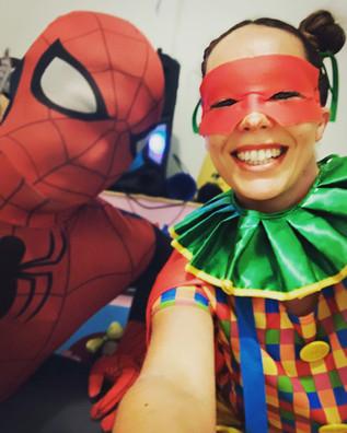 Adventurous Superheroes party: Superheroes kids party - Spiderman