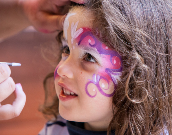 Face painting for kids parties in Malta