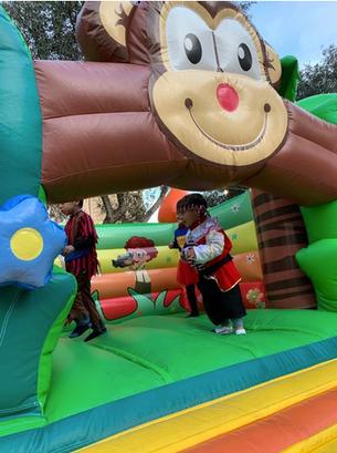 Bouncy castles for kids parties in Malta