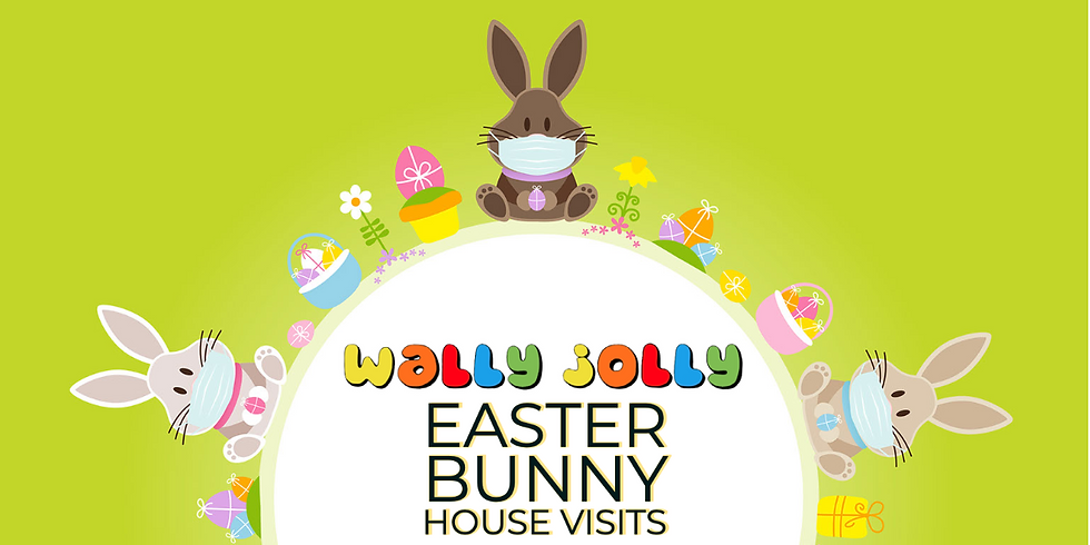 Easter Bunny House Visits on Easter Day!
