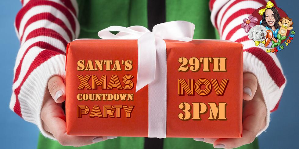 Santa's Xmas Countdown Party: 3pm - 5pm