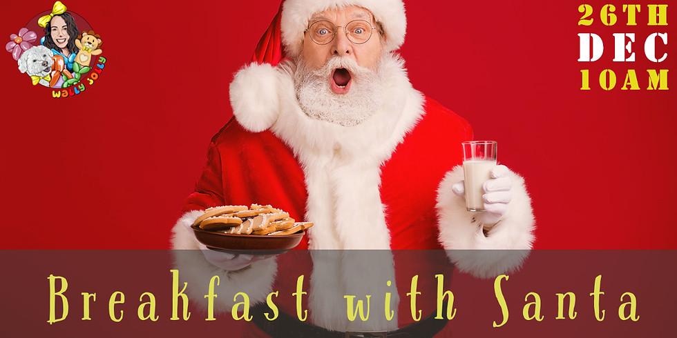 A Wally Jolly Breakfast with Santa: 27th Dec