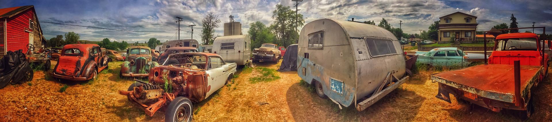 Vintage Car Graveyard