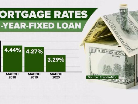 Homeowners Rush To Take Advantage Of Lower Rates