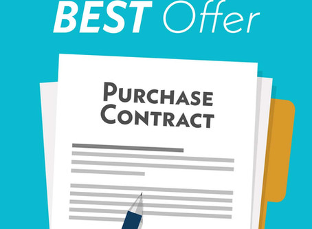 It's Still Purchase Season, Meaning Buyers Like You Have To Be Ready To Make Aggressive Offers