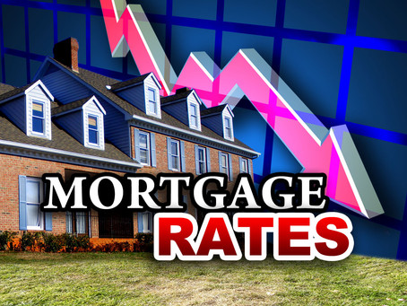 Slight Increase In Mortgage Rates in the Past 3 Months.