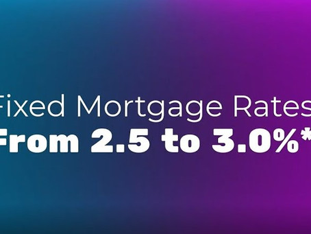 30-YEAR FIXED RATES STARTING AT 2.5% ON NEW BORROWER PURCHASES AND REFINANCES