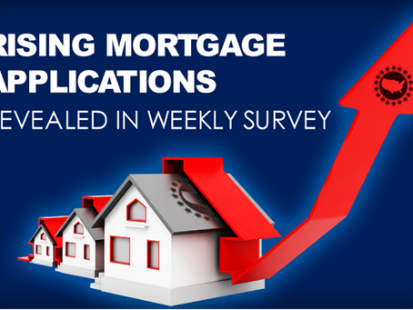 Weekly Mortgage Applications Jump to Highest Level in Over a Month