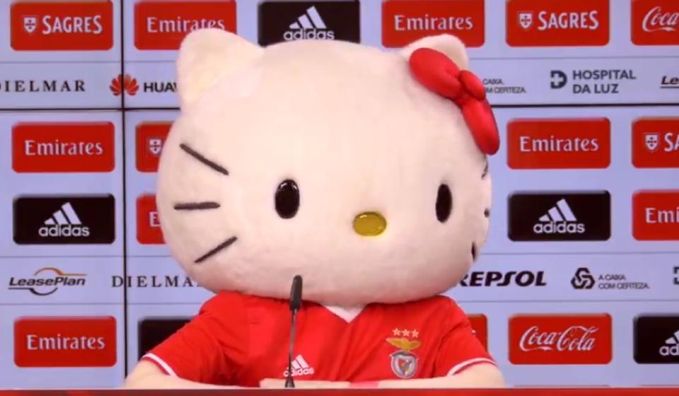 Benfica e Hello Kitty