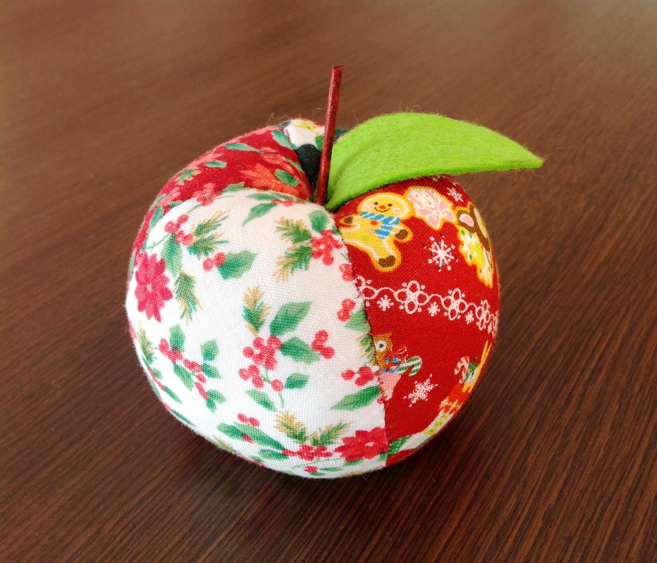 クリスマスりんご オーナメント