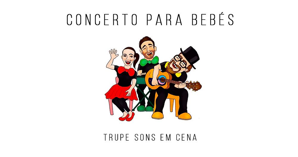 Concerto para Bebés da Trupe Sons em Cena na Misericórdia de Cucujães