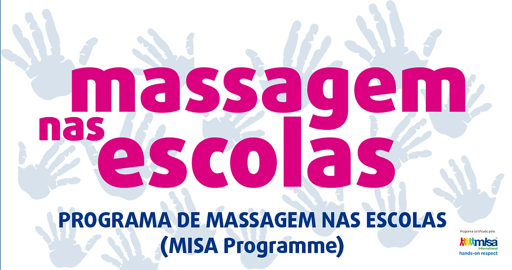 Massagem nas escolas - Projeto Misa