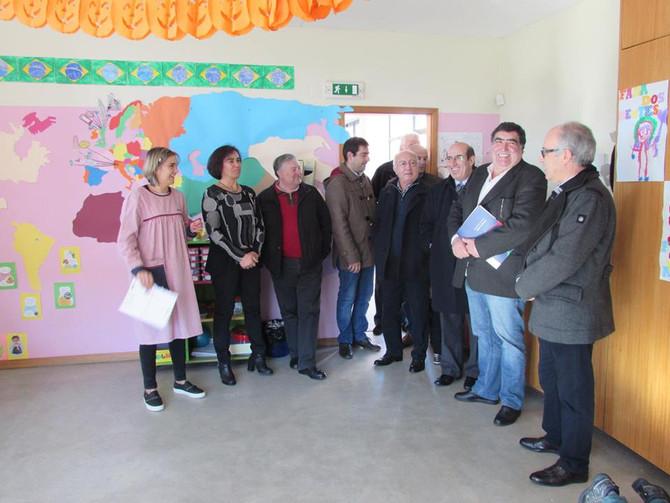 Visita do Diretor do Centro Distrital da Segurança Social de Aveiro