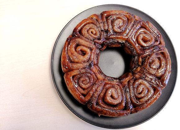 Vegan Cinnamon Ring Cake (8 inches)