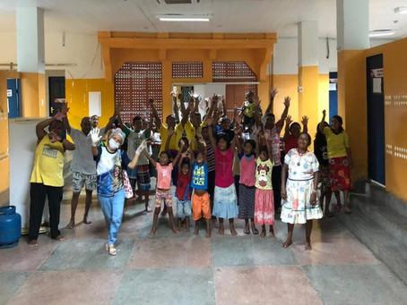 Arquidiocese da Paraíba mantém casas de acolhimento para indígenas venezuelanos