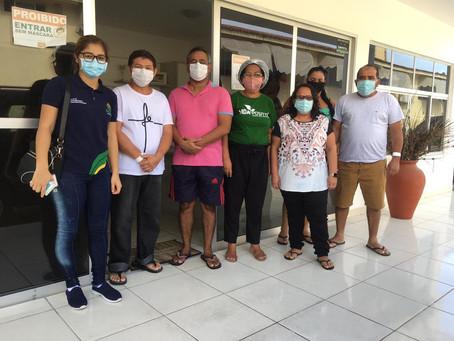 Chegaram na casa de convivência mais cinco de alta hospitalar