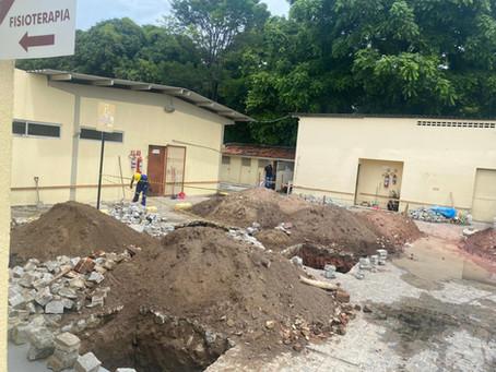 Construção do prédio (66 acomodações)