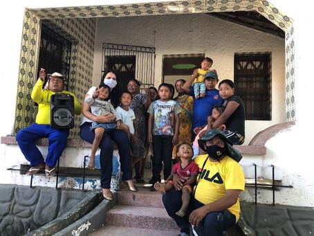 Novo abrigo de Índios Venezuelanos